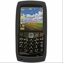 Cellet Black Jelly Case For Blackberry Pearl 9100 - $4.85