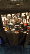 Vtg Harley Davidson Motorcycles T-Shirt Daytona Beach Florida Motorcycle - $13.90