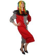 Adult Women's Naughty Clown Jumpsuit Costume HC-703 - £53.27 GBP+