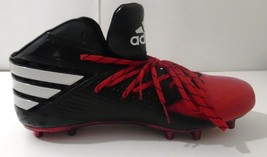 "NEE ADIDAS Freak X Carbon MID High Men's Football Cleats Black/Red 17"" US B42723 - $47.45"