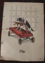 Tom Betty Flip Dick & Jane Basal Basic School Reader Book Oversized Page... - $24.74