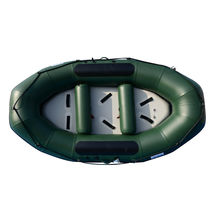 BRIS 9.8ft Inflatable White Water River Raft 2 Person Self Bailing Raft Dinghy image 10