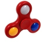 LED light Fidget Hand Spinner / Red - ₨192.11 INR+