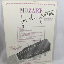Mozart Guitar Music Book 16 Pages 1970 No 15554-16 13 Classical Pieces S... - $12.86