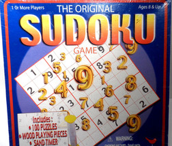 The Original Sudoku Game  Factory sealed NIB at a great Price Free Shipping - $9.56
