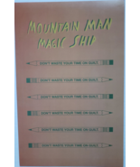 "Mountain Man ""Magic Ship"" 11 x 17 Cardstock Promo Poster, new - $4.95"