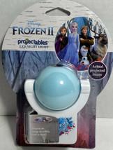 New Projectables Disney Frozen 2 LED Night Light, Plug-in Light Sensing Proj - $13.37
