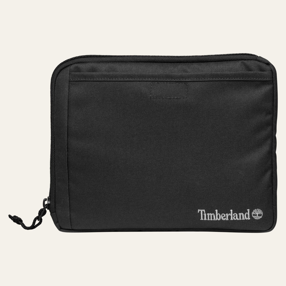 dbbf160a8166 Timberland Unisex Crofton Water-Resistant Black Tablet Sleeve A1LRO