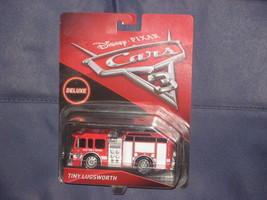 DISNEY PIXAR CARS 3 TINY LUGSWORTH DELUXE MODEL. NEW IN PACKAGE. - $12.10