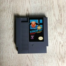Stack Up / Robot Block - Video Game NES 72 pins 8bit for NTSC / PAL Console - $31.79