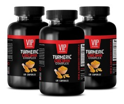 Weight Loss Supplements - Turmeric Curcumin Complex 3B - Antioxidant Capsules - $42.97