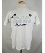 Vintage Marquette University '89 Big Chill Winter Games Champion T-Shirt... - $59.99