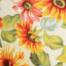Longaberger Napkin Liner in Sunflower Plaid Fabric - $11.76