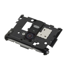 Back Plate Housing Camera Lens Panel for LG G2 / D802 / D800(Black) - $3.73
