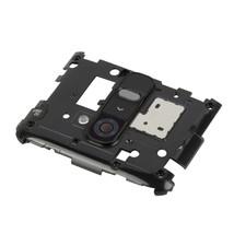 Back Plate Housing Camera Lens Panel for LG G2 / D802 / D800(Black) - $3.73