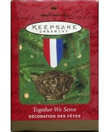 Military Hallmark Christmas Ornament United States Military Together We ... - $5.93