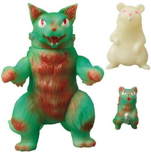 MaxToy GID Glow in the Dark King Negora w/ mouse and micro negora