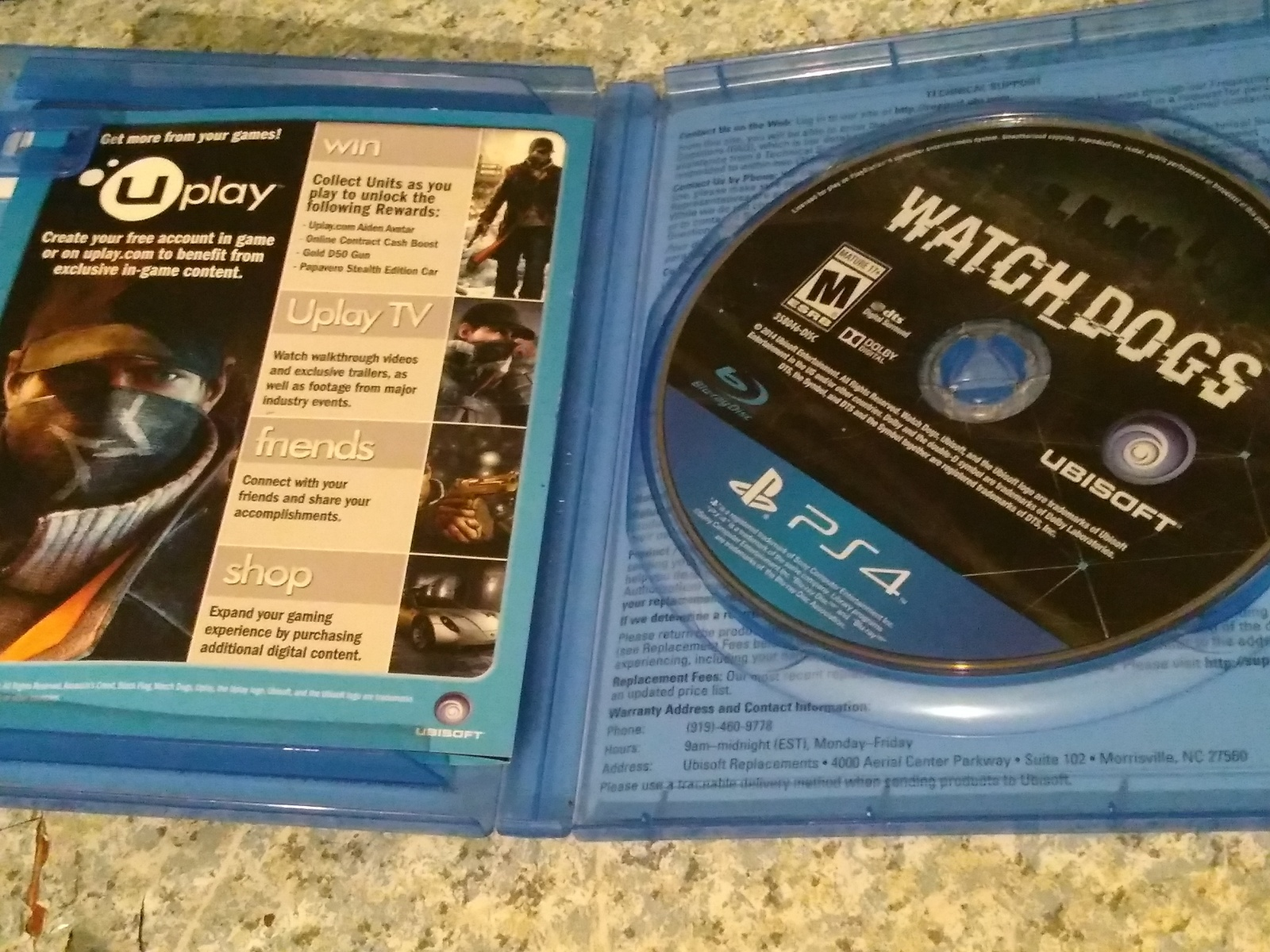 Watch Dogs Sony PlayStation 4 image 2