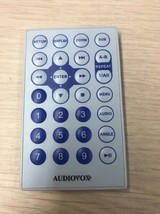 Audiovox DVD Player Remote Control Tested And Cleaned                        F4