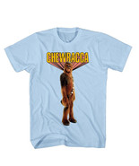 Star Wars Chewbacca Photo Image Stance T-Shirt size Large NEW UNWORN - $18.37