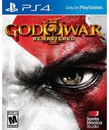 PS4 GOD OF WAR III REMASTERED (US) [video game] - $15.82