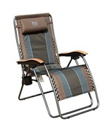 Timber Ridge Zero Gravity Locking Patio Outdoor Lounger Chair Oversize X... - $125.16
