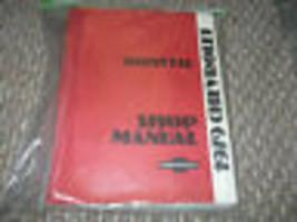 1979 Chevrolet Chevy Corvette Service Reparatur Shop Manuell Fabrik W Ew... - $139.03