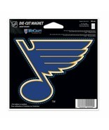 NHL St. Louis Blues 4 inch Auto Magnet Die-Cut by WinCraft - £8.48 GBP