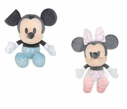 Disney My First Minnie & Mickey Baby Mouse 2020 Small Soft Plush Toy Doll 27.5cm - $59.95
