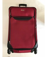 * NEW * Tag Springfield III Red Luggage Lightweight Spinner Suitcase - $69.99