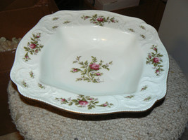 Rosenthal Sansoucci Rose 11 inch square vegetable bowl 1 available - $95.54