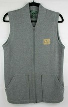 Lauren Ralph Lauren men's grey cotton vest zip with pockets size S - $19.67