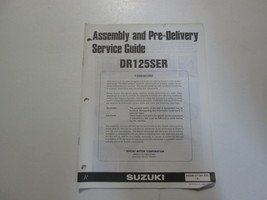 1992 Suzuki DR125SER Assembly Pre Delivery Service Guide Manual Minor Stain Oem - $19.75