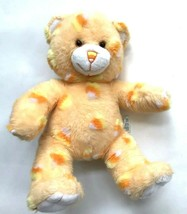"Build a Bear Candy Corn Halloween Bear stuffed Animal Plush 15"" Orange - $15.83"