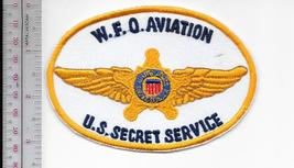 US Secret Service USSS Weather Forecast Office Aviation W.F.O. Service Patch wh  - $9.99