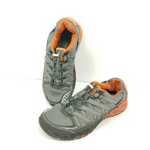 Keen Versatrail Mesh Running Athletic Sneakers Mens Size 8.5 Gray Black Orange - $37.18