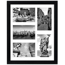 Americanflat 11x14 Collage Picture Frame - Display Five 4x6 Pictures wit... - $17.19