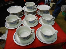 """Great Pfaltzgraff """"Yorktowne"""" ..9 Cups And Saucers & 2 Free Saucers - $32.26"""