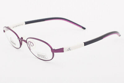 Primary image for Adidas A987 40 6064 Ambition Purple White Eyeglasses 987 406064 44mm