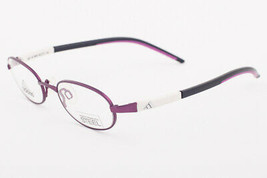Adidas A987 40 6064 Ambition Purple White Eyeglasses 987 406064 44mm - $68.11