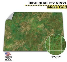"Battle Grid Game Mat 48"" x 72"" Tabletop Role Playing D&D Map DnD Wargami... - $50.64"