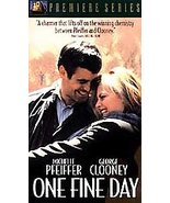 One Fine Day VHS, 1997, Premiere Series, Comedy, George Clooney Free Shi... - $9.09