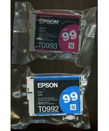 Epson 99 Cyan & Magenta Ink Cartridge - Lot of Two - Brand New - $11.57