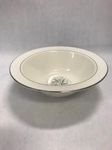 HOMER LAUGHLIN Serving Bowl 9 inch Vintage eggshell cavalier Celeste Blu... - $45.53