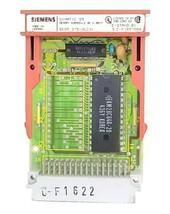 SIEMENS 6ES5-375-0LC31 MEMORY SUBMODULE S5 375 8K X 8BIT 6ES53750LC31