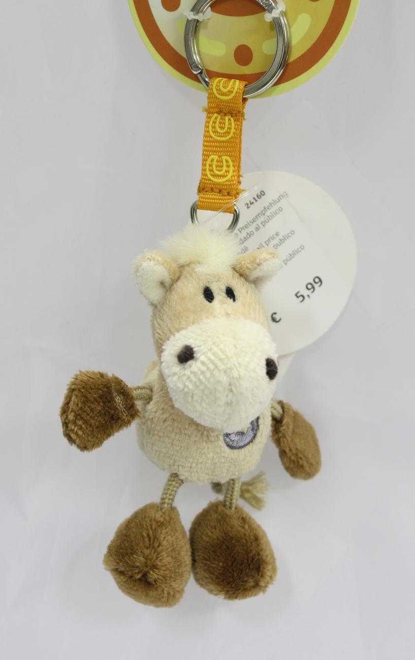 Keyring horse beige 1.01