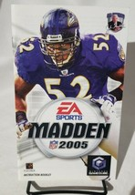 Madden 2005 Instructions Manual Only Nintendo Gamecube - $3.46