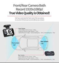 "Lukas LK-9370 Blackbox Dash Camera 2CH Full HD Wi-Fi 3.5""LCD Dual 8Gb+8Gb+GPS image 5"