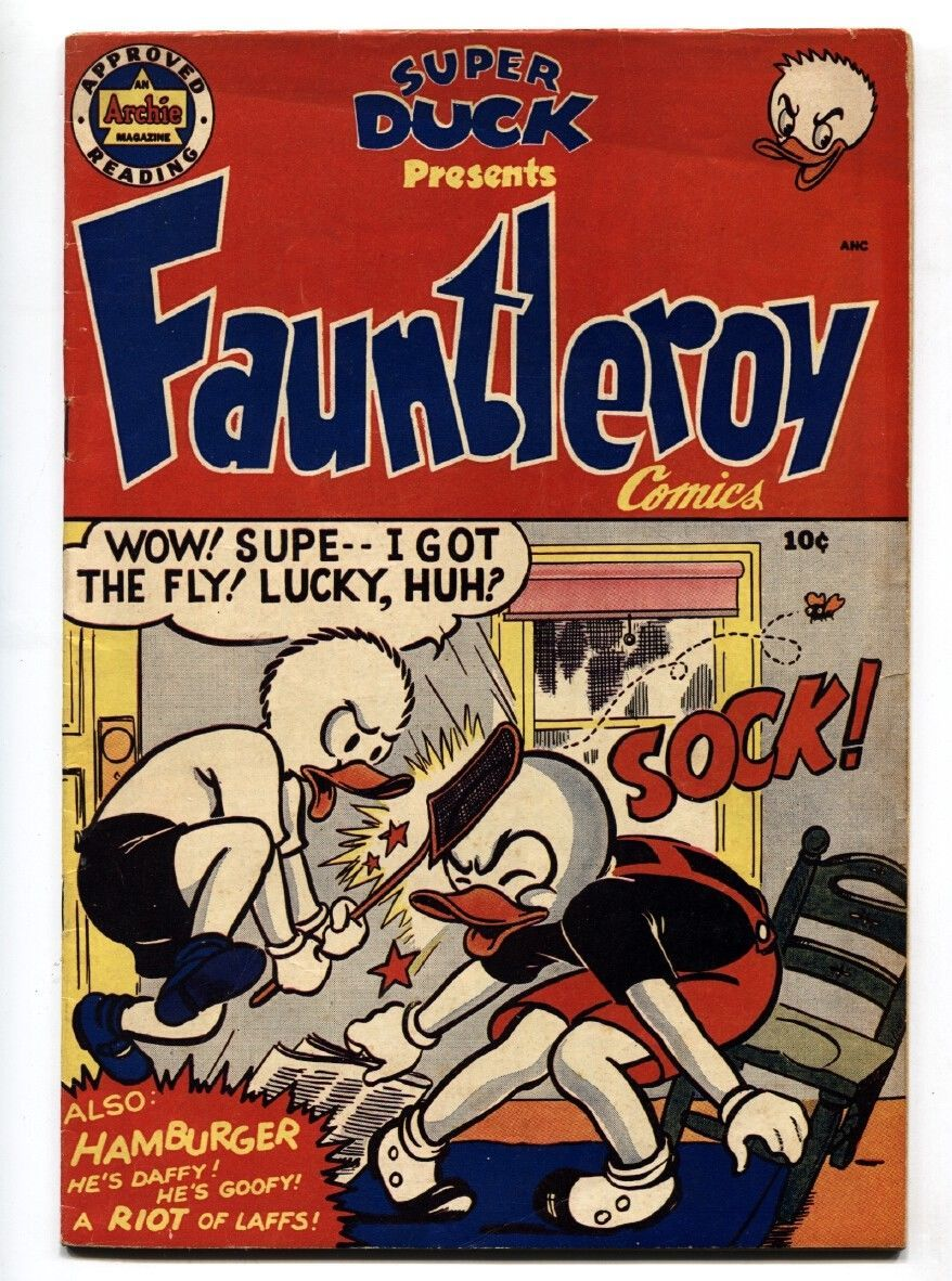 Fauntleroy #1 1950-Archie-Super Duck-Al Fagaly-1st issue- VF - $194.00