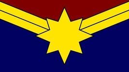 Captain Marvel Carol Danvers 3'x5' Flag Banner Marvel Avengers USA selle... - $25.00